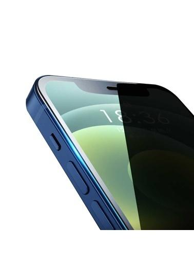Wiwu Apple iPhone 12 iPrivacy HD Anti-Peep Screen Protector Siyah